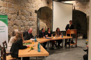 Podiumsdiskussion mit Vertretern des Sächsischen Landtags