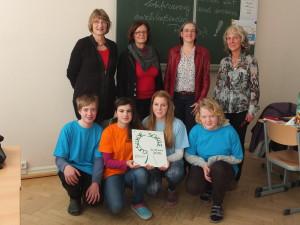 """Evangelische Oberschule Schneeberg ist 25. """"Gesunde Schule"""" in Sachsen©SLfG"""