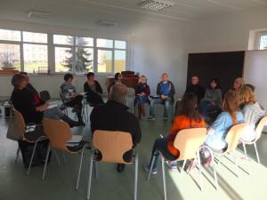 kollegialer Dialog©SLfG mit freundlicher Genehmigung der Evangelischen Oberschule Schneeberg