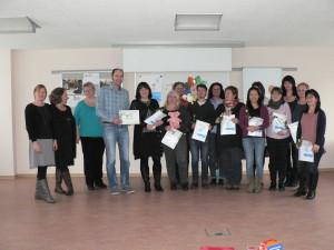 FREUNDE Auszeichnung Pirna©Silvia Bühn Gesundheitsamt Landkreis SSO