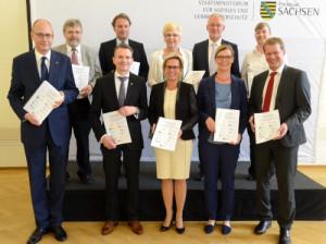 Unterzeichnung Landesrahmenvereinbarung©SMS/Steffen Giersch