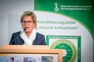 Grußwort von Staatsministerin Barbara Klepsch©André Wirsig im Auftrag der SLfG