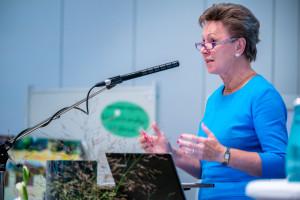 Helma Orosz, Vizepräsidentin der SLfG, begrüßte die Tagungsgäste©André Wirsig im Auftrag der SLfG