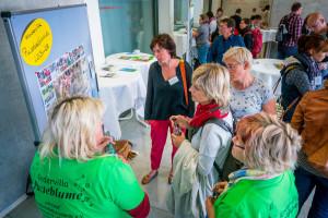 Praxisaustausch mit den Landessiegern der bisherigen Kinder-Garten-Wettbewerbe©André Wirsig im Auftrag der SLfG