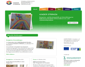 Screen neue Website
