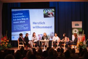Podium Schatzsuche HH©Foto HAG, Heike Günther