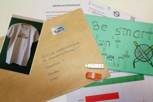 Erste kreative Einsendungen der Schulklassen haben die SLfG erreicht.©SLfG