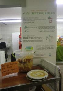 Lebensmittelabfallmessung in Hartha©SLfG