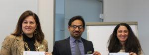 Freude bei den Teilnehmern nach erfolgreicher Abschlusspräsentation©SLfG