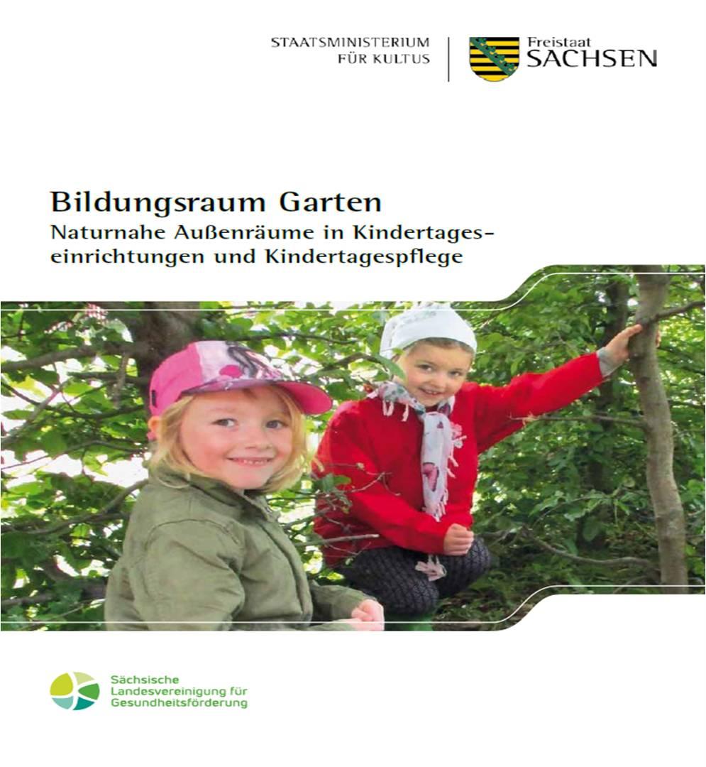 Broschüre Bildungsraum Garten Naturnahe Außenräume In