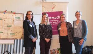 Maria Gies, Madlen Gelfert, Kerstin Schnepel, Annekathrin Weber (v. l. n. r.)©SLfG