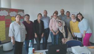 Die Teilnehmer einer MiMi-Schulung©SLfG