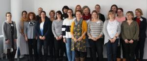 Die Teilnehmer*innen der Fortbildung©SLfG