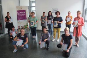 Die frisch zertifizierten Schatzsuche-Referentinnen©SLfG