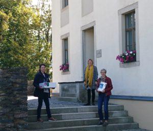 v. l. n. r. Silke Müller (Gesundheitsamt Vogtlandkreis), Kerstin Schnepel, Annekathrin Weber (SLfG)