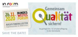 Save the Date Bundesforum